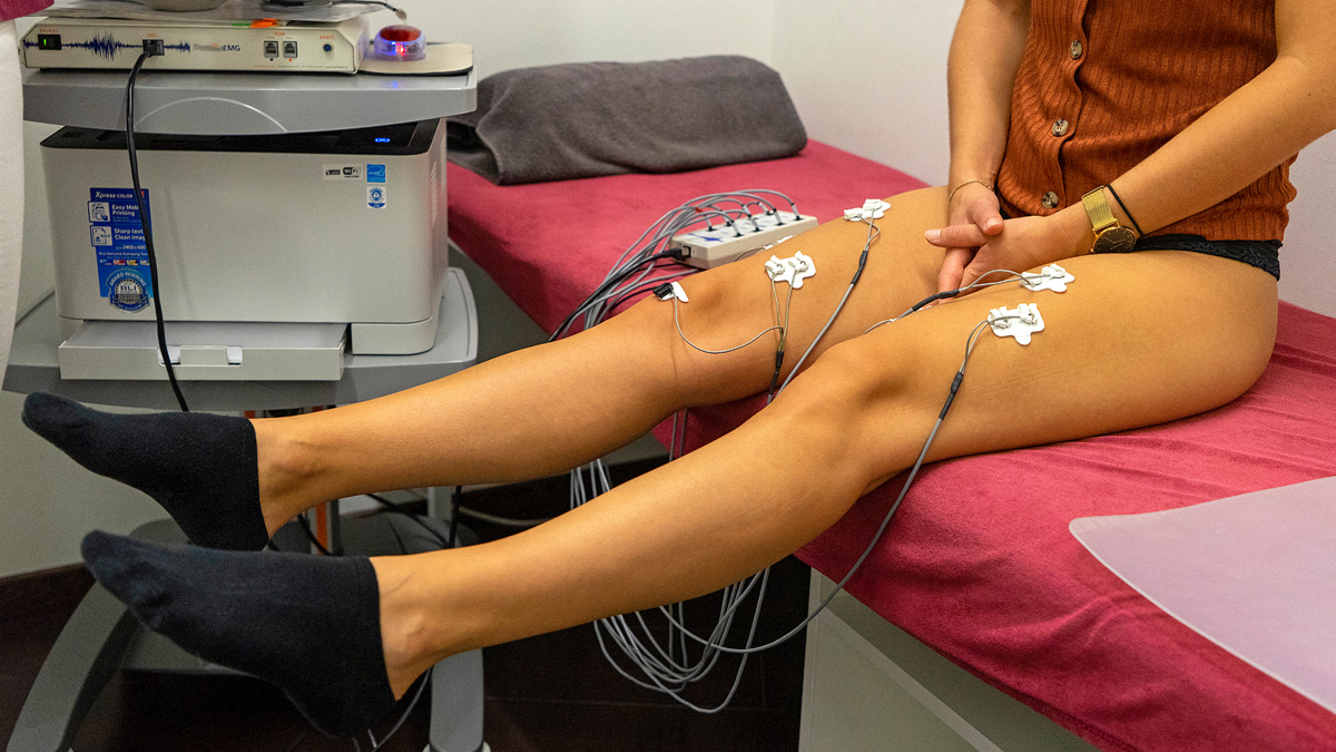 Diagnostik EMG Messung